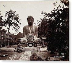 Thirteenth-century Buddha, Kamakura Acrylic Print by Wellcome Images