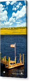 This American Sound Acrylic Print by Laura Brightwood