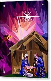 This Holy Night Acrylic Print