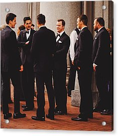 This Is A Groom. #wedding #groom Acrylic Print