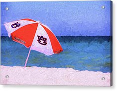 This Is Auburn Acrylic Print by JC Findley