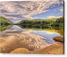 This Is British Columbia No.28 - Conkle Lake Acrylic Print by Paul W Sharpe Aka Wizard of Wonders