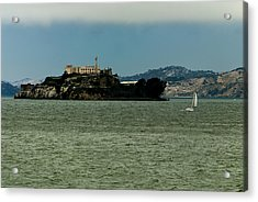 This Is California 7 - Escaping From Alcatraz Acrylic Print by Paul W Sharpe Aka Wizard of Wonders