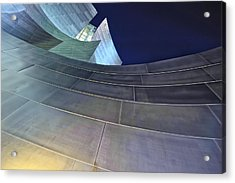 This Is California No. 17 - Walt Disney Curves Acrylic Print by Paul W Sharpe Aka Wizard of Wonders
