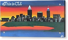 This Is Cle Acrylic Print by Cyrionna The Cyerial Artist