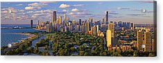 This Is Lincoln Park With Diversey Acrylic Print