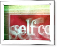 This Is Me Being Me And Thats Just The Way I Am Acrylic Print by Jez C Self
