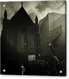 This Is My Church,goodison Park Acrylic Print