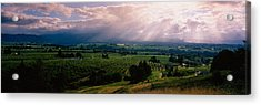 This Is Near The Hood River. It Acrylic Print by Panoramic Images