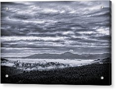 This Is Oregon State No.22 - Above The Clouds Acrylic Print by Paul W Sharpe Aka Wizard of Wonders