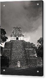 This Is Temple 2 At Tikal Acrylic Print by Stephen Alvarez