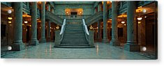 This Is The Interior Of The State Acrylic Print by Panoramic Images