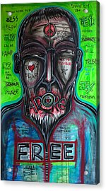 This Is The Law- Free Acrylic Print