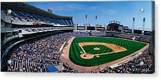 This Is The New Comiskey Park Stadium Acrylic Print by Panoramic Images