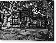This Is The Philippines No.10 - San Juan Nepomuceno Church Acrylic Print by Paul W Sharpe Aka Wizard of Wonders