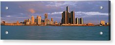 This Is The Skyline And Renaissance Acrylic Print