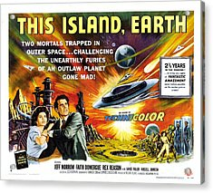 This Island Earth Science Fiction Classic Movie Acrylic Print