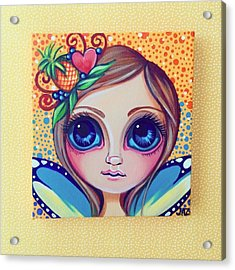 This Little Faery Cutie Today Flew Into Acrylic Print