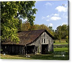 This Old Barn Acrylic Print