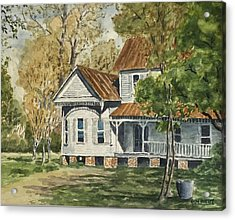 This Old House Acrylic Print by Don Bosley