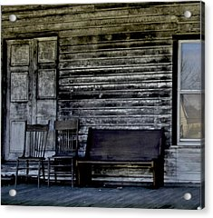 This Old Porch Acrylic Print