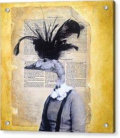 This Quacks Me Up Acrylic Print by Susan McCarrell
