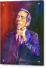 This Song Is For You - Andy Williams Acrylic Print