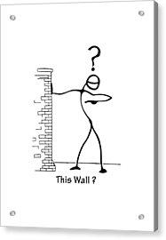 This Wall Acrylic Print