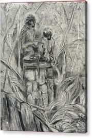 This Way Acrylic Print by Diana Kaye Obe
