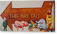 This Way Out Acrylic Print