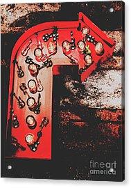 This Way To Rock City Acrylic Print
