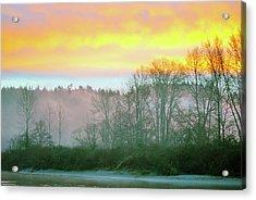 Thomas Eddy Sunrise Acrylic Print