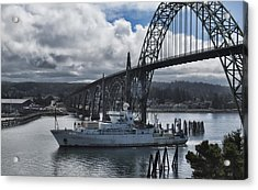 Thomas G Thompson Coming Into Newport  Acrylic Print