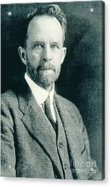 Thomas Hunt Morgan, American Geneticist Acrylic Print by Photo Researchers, Inc.