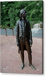 Thomas Jefferson At Monticello Acrylic Print