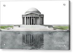 Thomas Jefferson Memorial, Washington Acrylic Print
