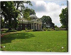 Thomas Jefferson's Monticello Acrylic Print by Bill Cannon