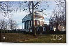 Thomas Jefferson's Rotunda Acrylic Print