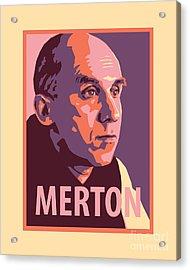 Thomas Merton - Jltme Acrylic Print