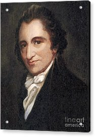 Thomas Paine, American Founding Father Acrylic Print
