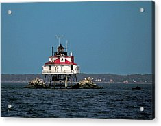 Thomas Point Shoal Light Acrylic Print