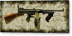 Thompson Submachine Gun 1921 Acrylic Print
