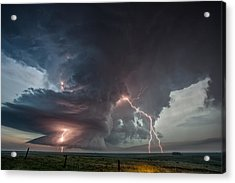 Thor Strikes Again Acrylic Print
