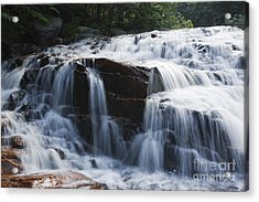 Thoreau Falls - White Mountains New Hampshire Usa Acrylic Print by Erin Paul Donovan