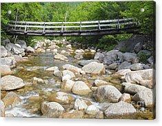 Thoreau Falls Trail - Pemigewasset Wilderness New Hampshire Acrylic Print