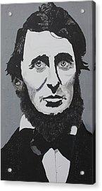 Thoreau Acrylic Print