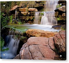 Thorndon Falls Acrylic Print by Heather Thorning