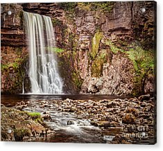 Acrylic Print featuring the photograph Thornton Force, Yorkshire Dales by Colin and Linda McKie