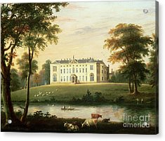 Thorp Perrow Near Snape In Yorkshire Acrylic Print by English School