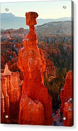 Thor's Hammer At Sunrise Acrylic Print by Pierre Leclerc Photography